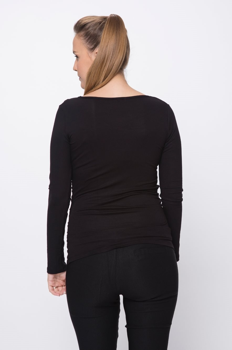 Picture of Baby Grow Maternity Top L.sleeve Black