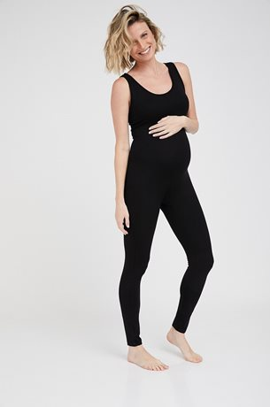 Picture of Linoy Maternity Bodysuit Black
